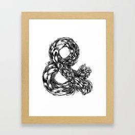 The Illustrated & Framed Art Print