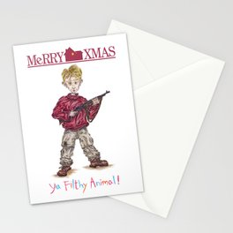 """Ya Filthy Animal!"" from Home Alone Stationery Cards"
