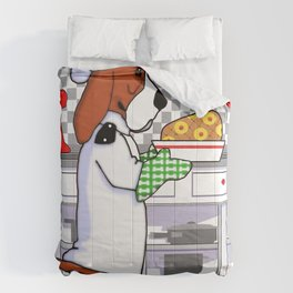 Chef Dogs Series: Chef Basset Comforters