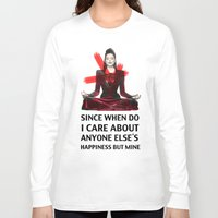 evil queen Long Sleeve T-shirts featuring Evil Queen Quotes by Geek World