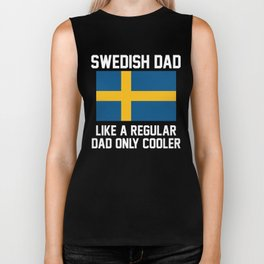 Swedish Dad Biker Tank
