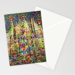 DeepDream Pictures, Cathedral Stationery Cards