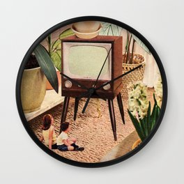 TV Room Wall Clock