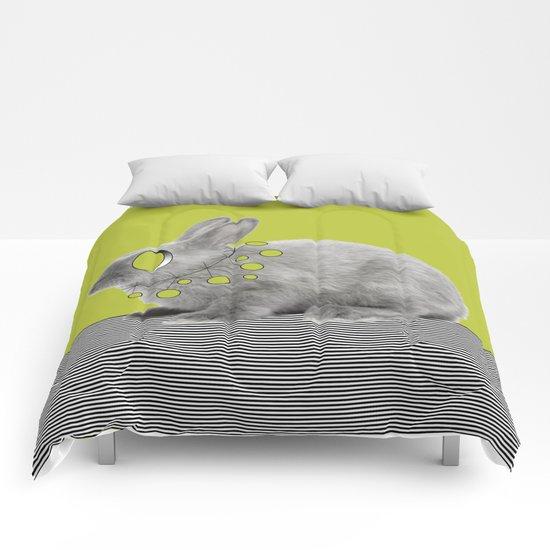 Rabbit my way Comforters
