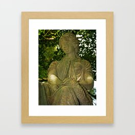 Lady in the Tree Framed Art Print