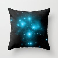 constellation Throw Pillows featuring Constellation by 2sweet4words Designs