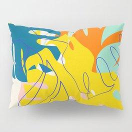 Vibrant Monstera for Matisse Pillow Sham
