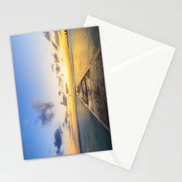 Golden Hour in Waikiki Stationery Cards