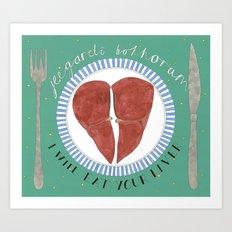 Your Liver Art Print