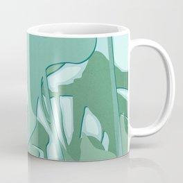 Minimal Monstera Leaves - Greener Eden Coffee Mug