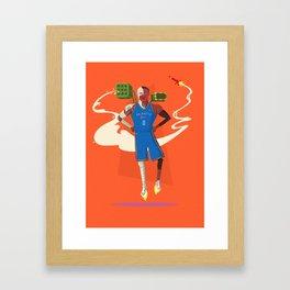 ROBO-Russ Framed Art Print