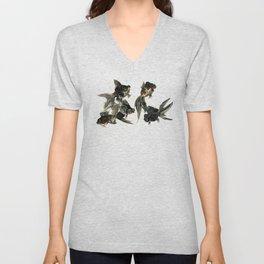 Black Moor, Feng Shui Art, design black fish art, aquarium Unisex V-Neck