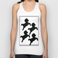 pony Tank Tops featuring pony by gasponce