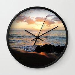 Sunset @ Rincon Wall Clock