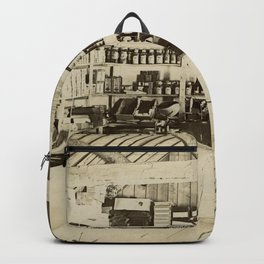 The General Store - Vintage Photo Backpack