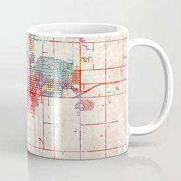 Enid map Oklahoma OK Coffee Mug