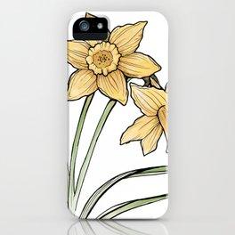 Daffodil: New beginnings iPhone Case