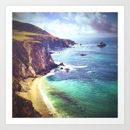 Big Sur Coastline Art Print