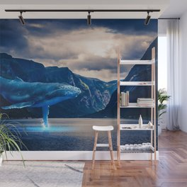Whale Watching Wall Mural