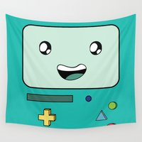 bmo Wall Tapestries featuring BMO by Kezarah