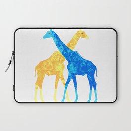 Two Giraffes Laptop Sleeve