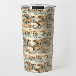 CRAZY BIRDDOGS IN THE FIELD Travel Mug