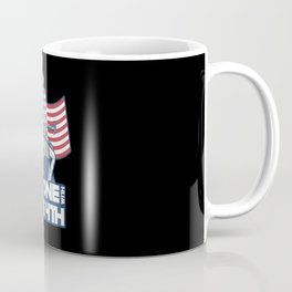 Be one with the 4th us flag sam bbq 4th of july Coffee Mug