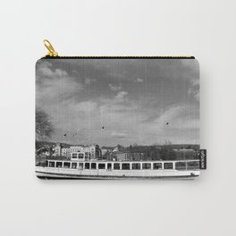 Lake Zurich in Mono Carry-All Pouch