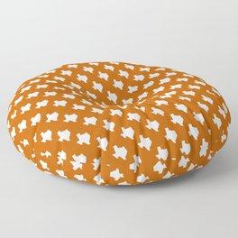 Texas longhorns college UT university sports football fan team alumni Floor Pillow