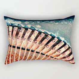 Typewriter Study In Abstract Rectangular Pillow