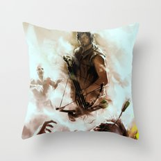 [ Daryl Dixon * Norman Reedus ] the walking dead Throw Pillow