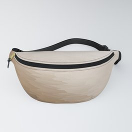 Beige Ombre Texture Fanny Pack
