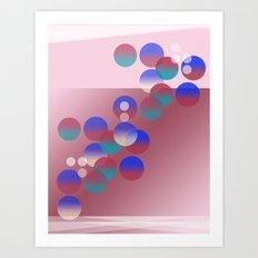 Balls of Nîce Art Print