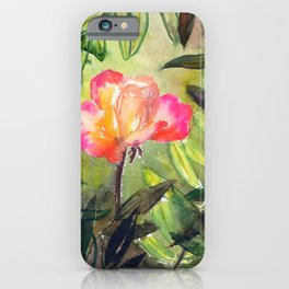 beauty: alone in the jungle iPhone Case