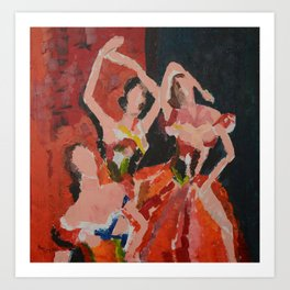 Bolero Art Print