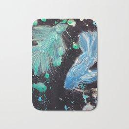 Betta Splendens Splatter Bath Mat