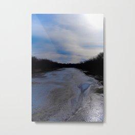 Allison Iowa Big Marsh Metal Print