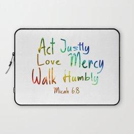 bible art Laptop Sleeve