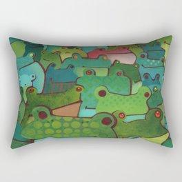 Any Questions? Rectangular Pillow