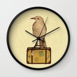 Migrating Bird Wall Clock