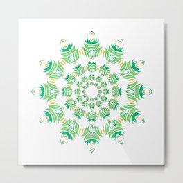 Mandala sheets! Metal Print