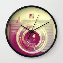 Vintage Camera Love: Bilora Bella! Wall Clock
