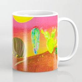 Armadillo Sunset Coffee Mug