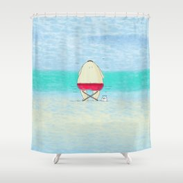 Sunny Fisher Shower Curtain