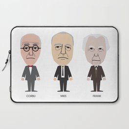 The Godfathers of Modern Architecture Laptop Sleeve