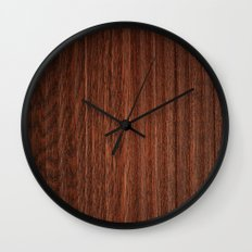 Wood #3 Wall Clock