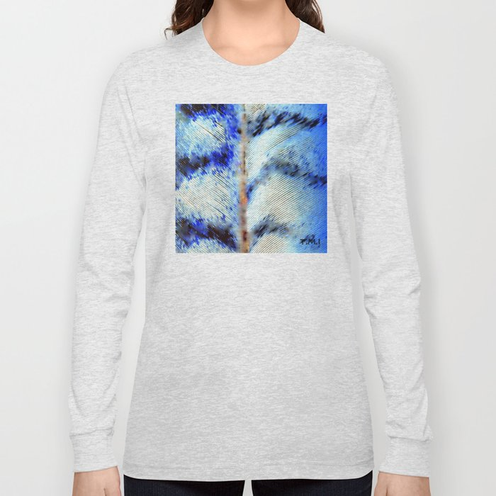 Feather | Feathers | Spiritual | Feathers in Flight Long Sleeve T-shirt