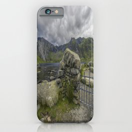 Gate To The Lake iPhone Case