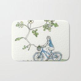 Bicycle Basket Bath Mat