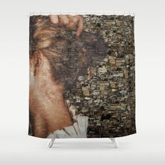 SHE IS LOST. Shower Curtain
